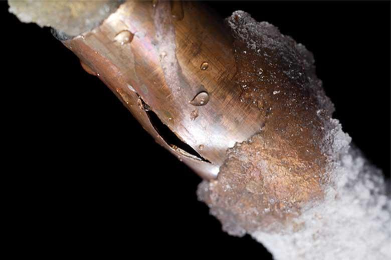 tubature congelate