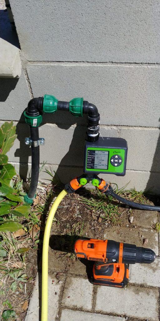 impianto di irrigazione a goccia aprile