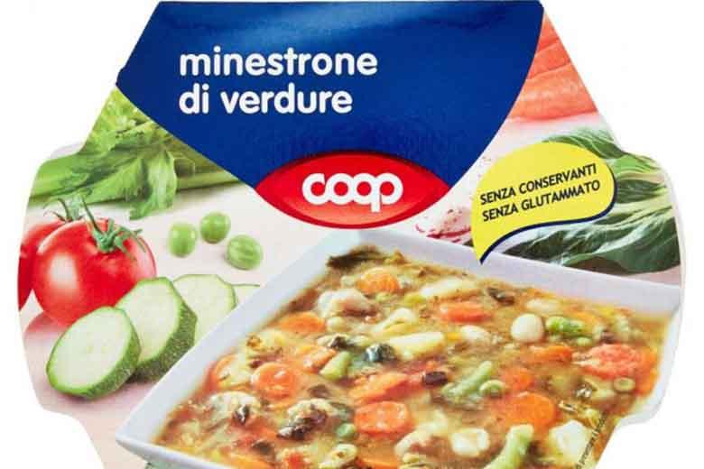 minestrone di verdure fresche coop