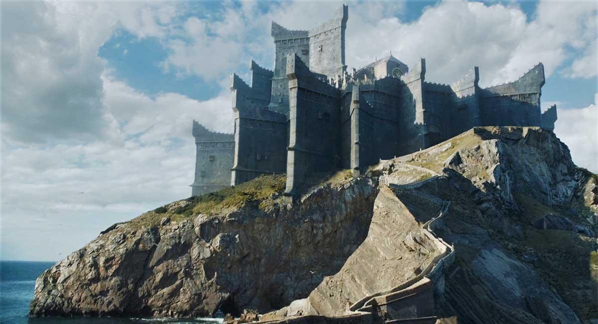 Dragonstone roccia di drago il trono di spade