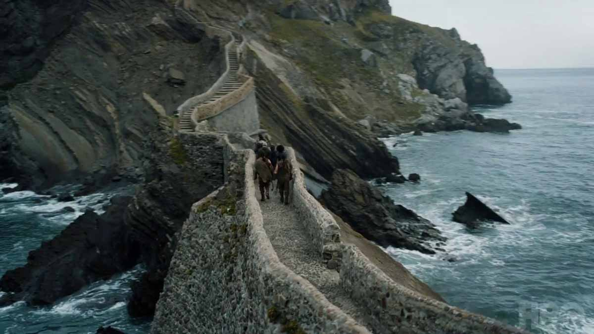 scalinata roccia del drago