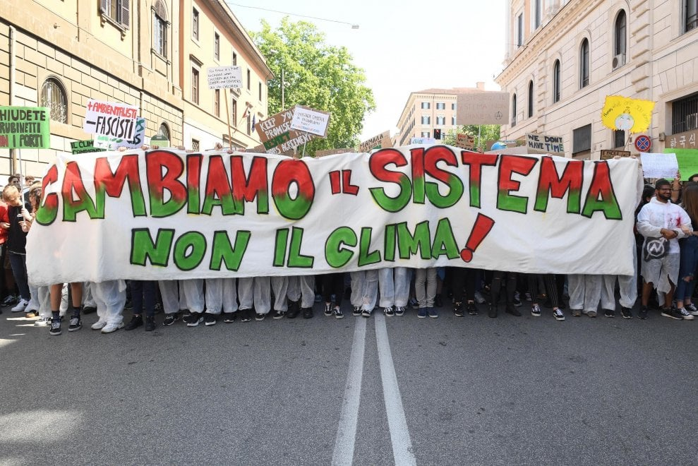 protesta globale per il clima