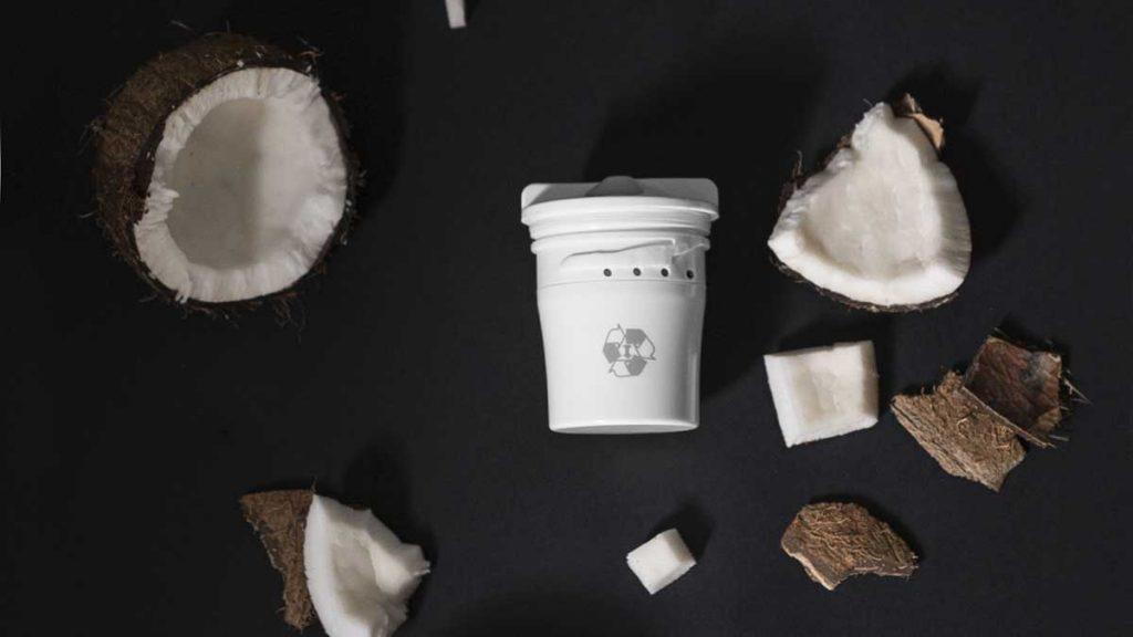tappwater filtri biodegradabili cocco