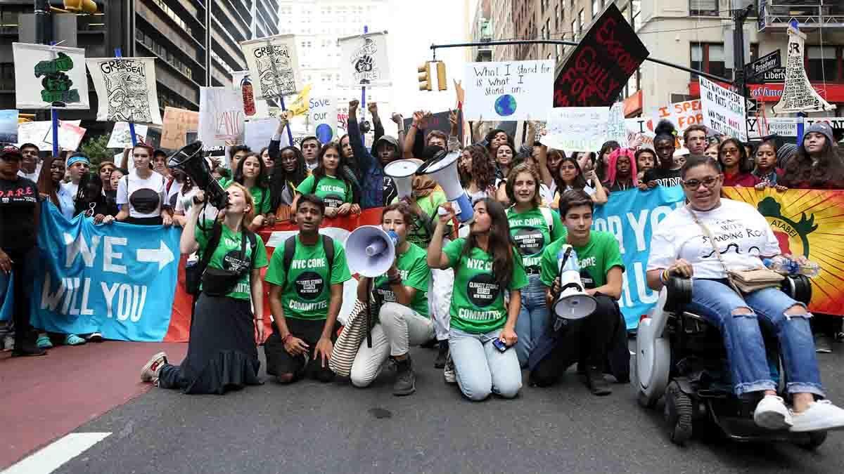 Sciopero globale per il clima New York