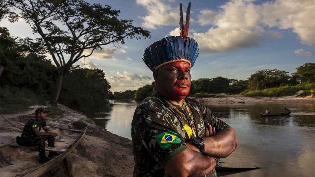 brasile amazzonia incendi difensore della terra