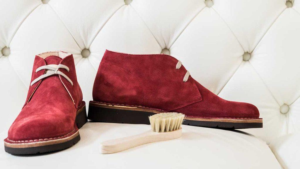 scarpe conciate con tannino