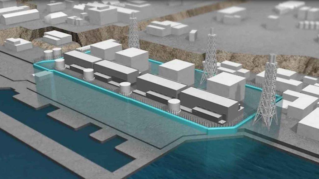 muro di ghiaccio fukushima acqua radioattiva