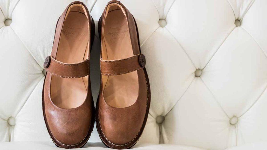 scarpe conciate tannino
