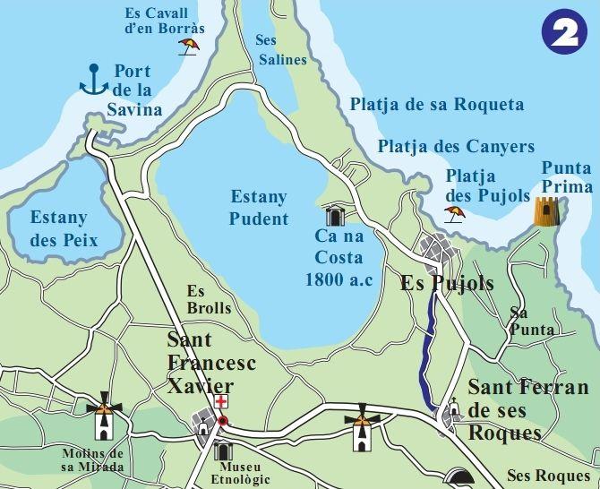 Cam de Ses Vinyes Formentera