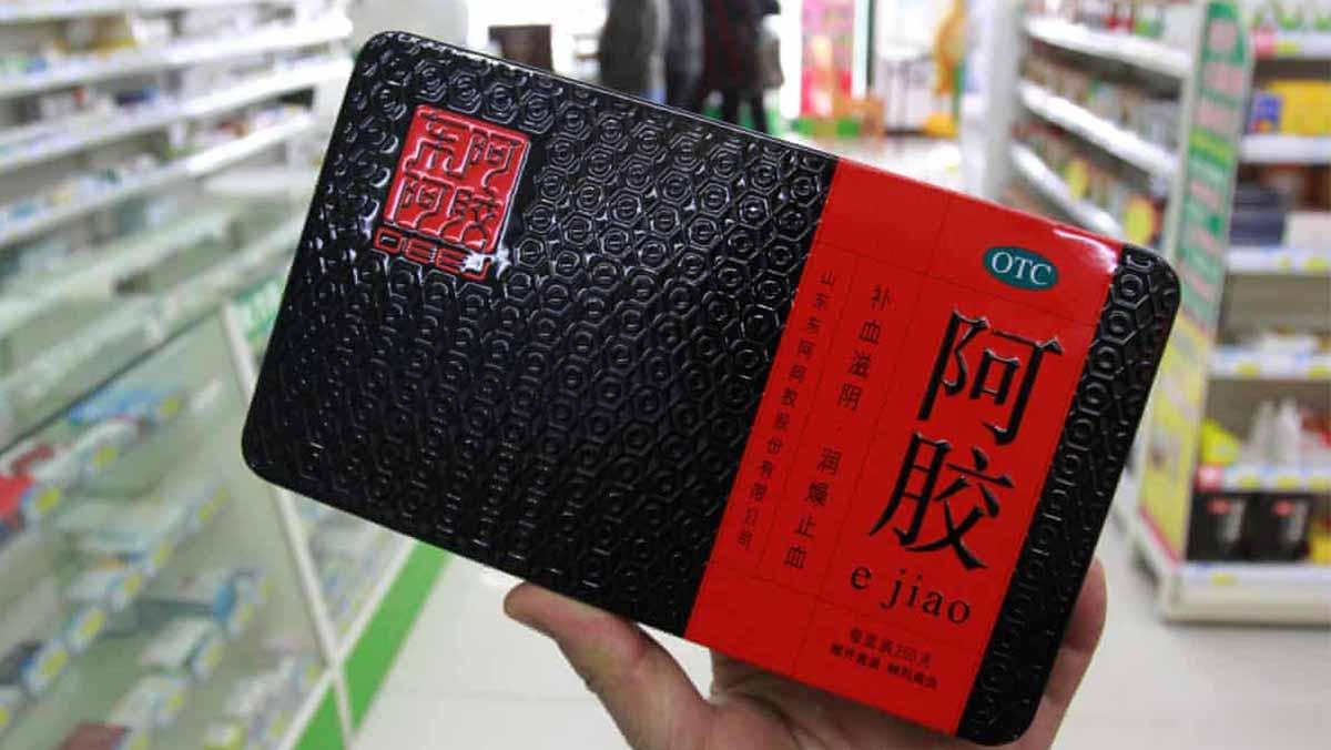 ejiao medicinale cinese pelle d'asino