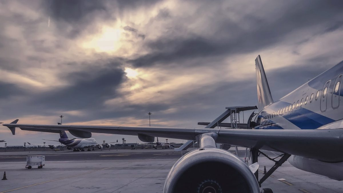 aria tossica negli aerei