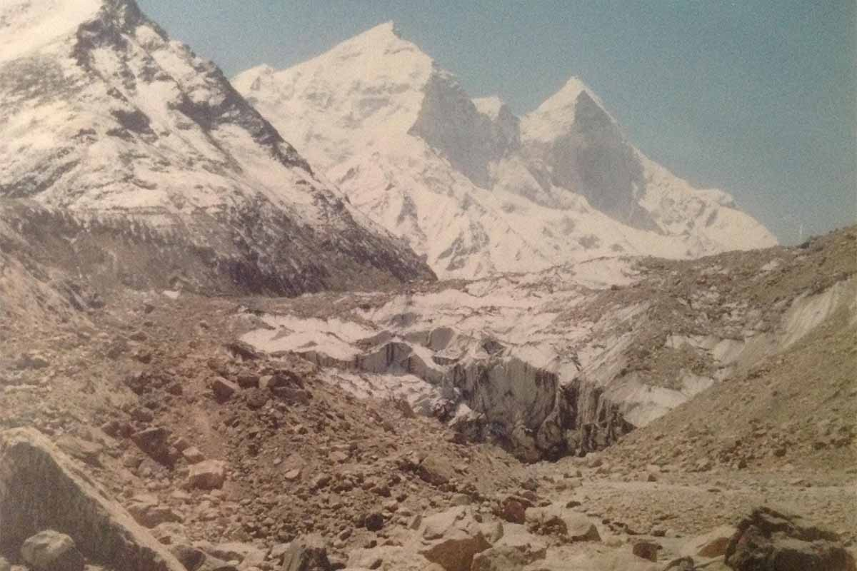 Glacier di Gaumuk