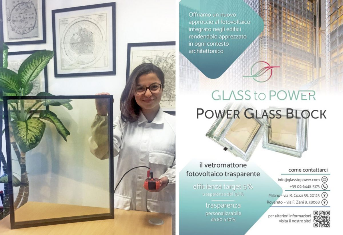Glass to Power, le finestre fotovoltaiche