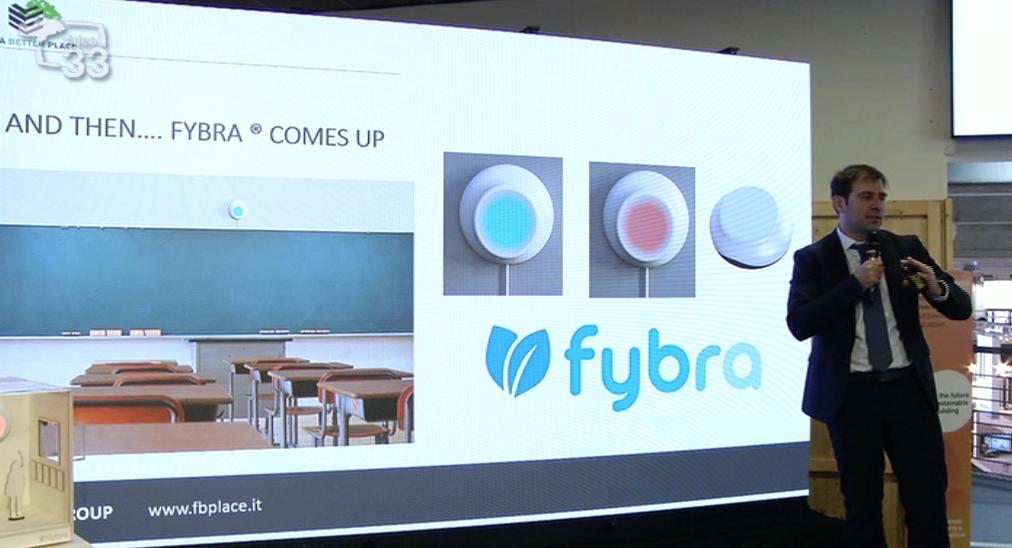 """Fybra"" vince il Future Hub Award a Klimahouse 2020"
