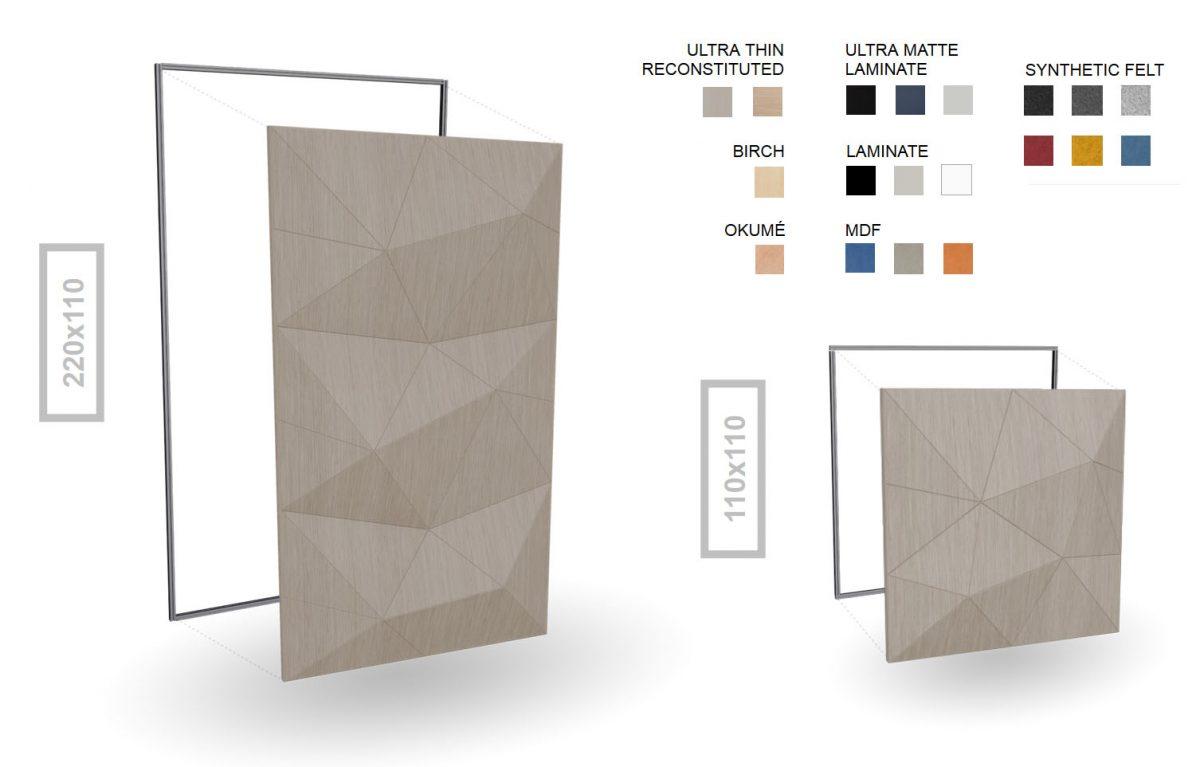 Wood-Skin: fold panels wood skin