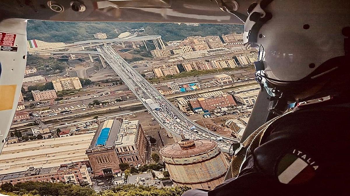 Inaugurazione ponte Genova-San Giorgio