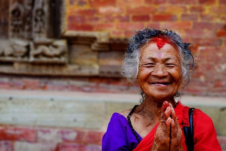 Il saluto indiano Namastè