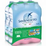 Ancora guai per acqua San Benedetto: bottiglie ritirate per cattivo odore