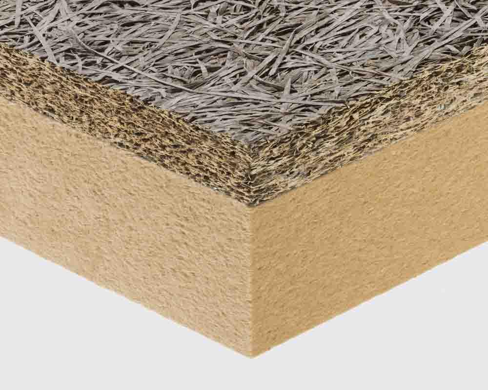 fibra di legno sezione