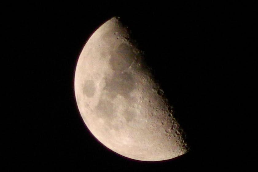 luna crescente fasi lunari