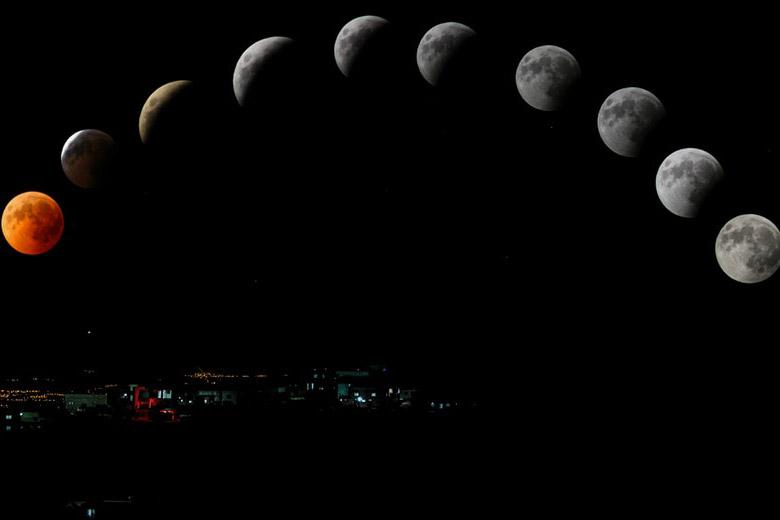 luna e parto luna crescente