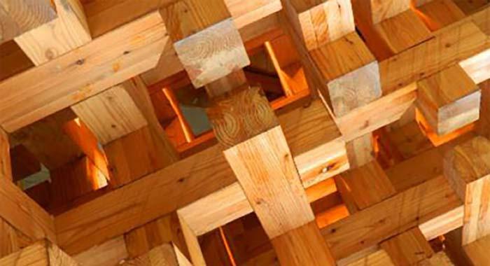 tavolette legno lamellare incollato