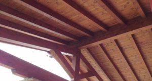 tetti in legno lamellare