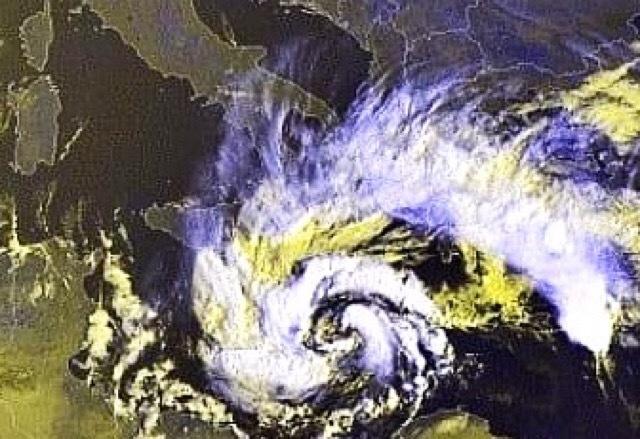 medicane uragano